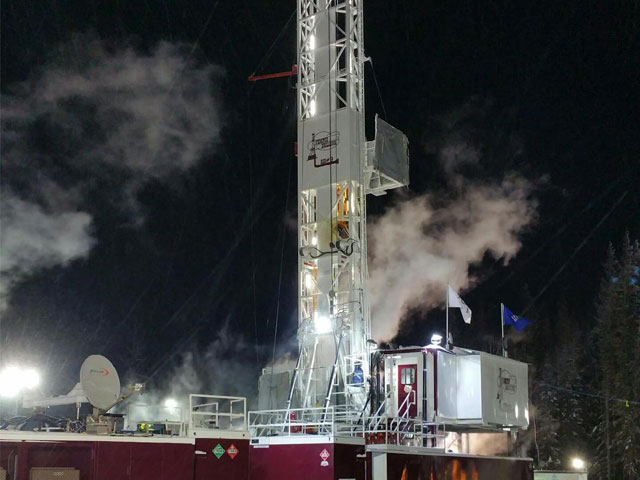 Tempco Leduc's Rig # 9 working hard around the clock